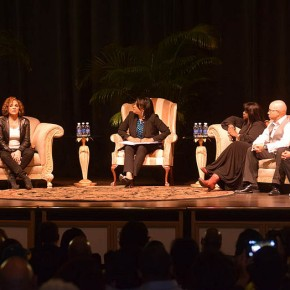 Different World cast speaks on campus