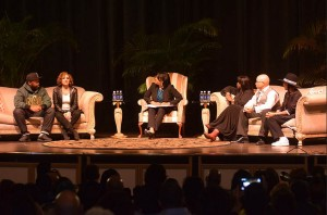 "The cast of ""A Different World"" was reunited on the campus of Norfolk State University to talk about the importance of HBCUs. Photo from Norfolk State University."