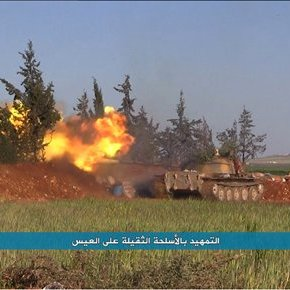 IS advances against rebels in northSyria
