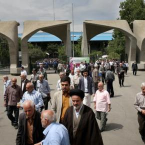 Iran votes in parliamentary runoff as rare shooting wounds 4
