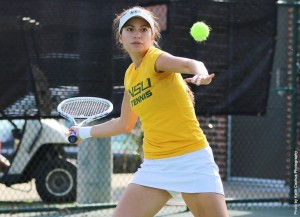 The Norfolk State women's tennis team dropped just two games all day in a 7-0 win over UMES on Wednesday afternoon at the NSU Tennis Complex.