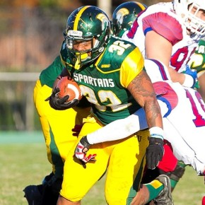 Bishop's late TD run helps offense beat defense 33-30 in Green & Gold Game
