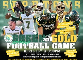 Green & gold football game, fan fest on tap for April 16
