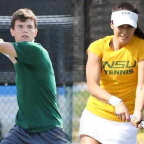 Tennis teams sweep MEAC WeeklyHonors