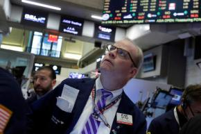 US stocks slip as economic growth disappoints