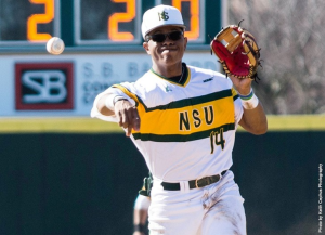 Visiting Norfolk State out-hit VCU 7-4, thanks in part to three hits from second baseman Roger Hall, but the Rams manufactured enough offense and got key pitching from their bullpen in a 4-2 win over the Spartans on Tuesday night at The Diamond.
