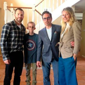 The Avengers heed call to visit teen battlingcancer