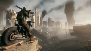 """This image released by Deep Silver shows a scene from the video game, """"Homefront: The Revolution."""" (Deep Silver via AP)"""