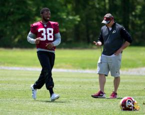 Redskins CB Fuller forced to be patient after kneesurgery