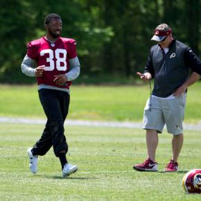 Redskins CB Fuller forced to be patient after knee surgery