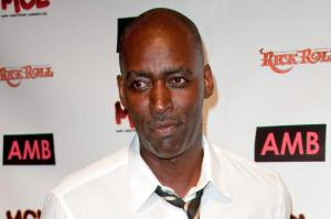 """FILE - In this Oct. 6, 2012 file photo, actor Michael Jace attends WordTheatre presents Storytales at FordAmphitheatre in Los Angeles. Jace's murder trial is scheduled to begin on Monday, May 23, 2016, in downtown Los Angeles. The actor best known for playing a police officer on the FX series """"The Shield""""� is charged with shooting his wife to death in their Los Angeles home on May 19, 2014 and faces 50 years to life in prison if convicted. (Photo by Richard Shotwell/Invision/AP, File)"""