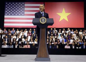 Obama urges Vietnam youth to tackle climatechange