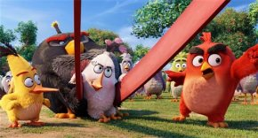 """Review: An app comes to life in """"The Angry BirdsMovie"""""""