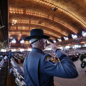 Virginia State Police gathering to remember fallenofficers