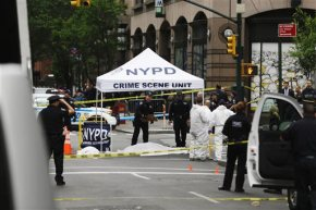 NY police: Belligerent, knife-wielding man killed by officer