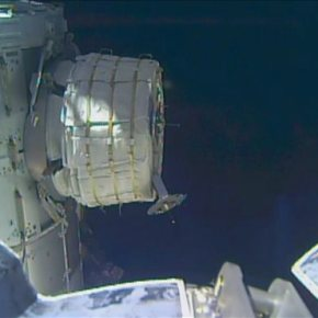 NASA hits snag while inflating new room at space station