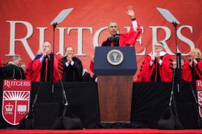 Rebuking Trump, Obama tells graduates walls won't solveills