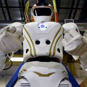 NASA's Valkyrie robots set the table for human life onMars