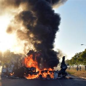 Riots hit South Africa's capital over mayoral candidate