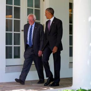 Facing calls from Dems to quit, Sanders sits down with Obama