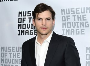 FILE - In this June 20, 2016 file photo, actor Ashton Kutcher attends the Museum of the Moving Image's 2016 Industry Tribute in New York. According to a new analytics tool unveiled by the Nielsen company, Wednesday, June 22, 2016, people who say they like Kutcher are much more apt to watch morning shows than fans of most other celebrities. The ratings company believes the tool can provide scientific rigor to decisions on how to deploy talent. (Photo by Evan Agostini/Invision/AP, File)