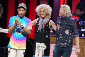 Pharrell gives pop lift to Little Big Town'sharmonies