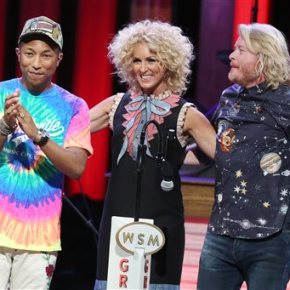 Pharrell gives pop lift to Little Big Town's harmonies