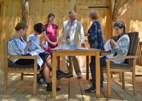 Prince Charles opens rural training center inTransylvania