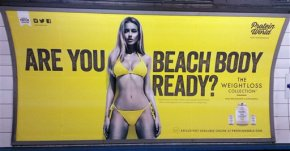 London mayor bans Tube ads that promote unhealthy body image