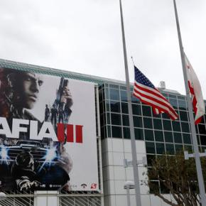 Shooter games hyped at trade show just after Floridaattack
