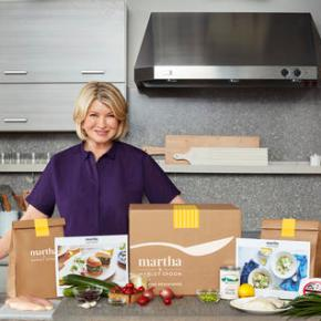 Martha Stewart gets into meal kit business