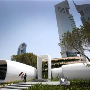 Futuristic Dubai office showcases 3-D printing's potential