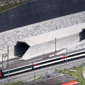 Swiss inaugurate $12 billion rail tunnel, world'slongest