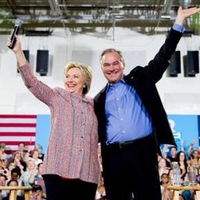 Kaine brings steady hand, confidence to Clintonticket