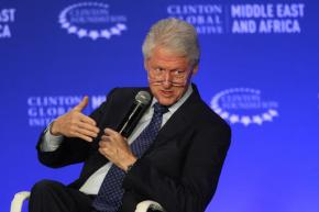 An emotional Bill Clinton eyes possible exit fromfoundation