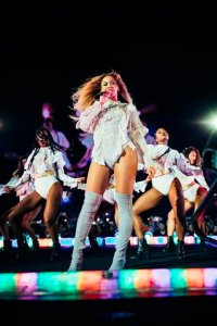 Beyonce performs during the Formation World Tour at Estadio Olimpico on Wednesday, August 3, 2016 in Barcelona, Spain. (Photo by 13th Witness/Invision for Parkwood Entertainment/AP Images)