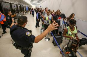 Los Angeles airport back to normal after panic-fillednight