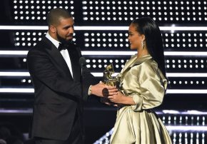 Drake went in. Rihanna leaned back. Twitter was all over it.