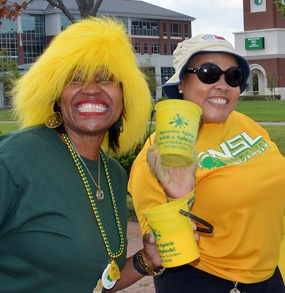 Show your Spartan pride on College Colors Day, Friday, Sept. 2