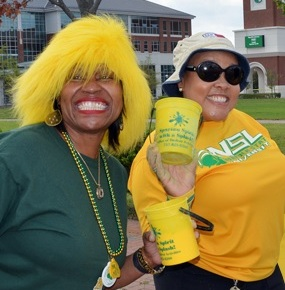Show your Spartan pride on College Colors Day, Friday, Sept.2