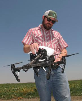 In drought, drones help California farmers save everydrop