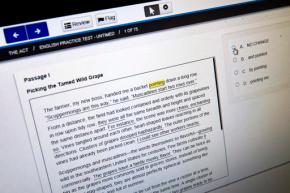 Scores sagging for high school grads taking ACT collegetest