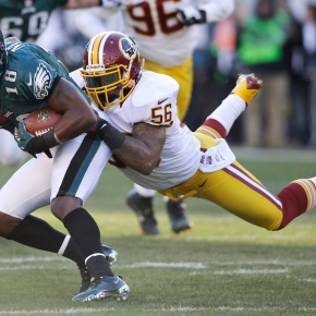 Redskins cut linebacker Riley, defensive lineman Paea