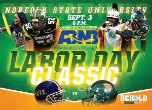 The ABNB Labor Day Classic against Elizabeth City State, has been pushed back to a 6 p.m. start time on Saturday, Sept. 3.