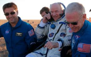 Happy landings: 3 space station crew members back onEarth