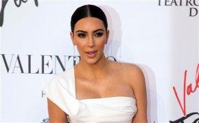 Kim Kardashian stuns at Balmain show at Paris FashionWeek