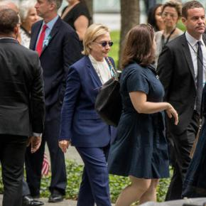 Clinton feels good, says she didn't pass out during stumble