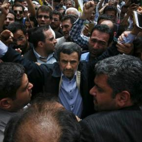 Ahmadinejad allies say Iran leader told him not to run again