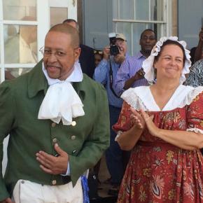 Historic recognition: Washington's family tree isbiracial