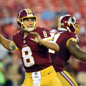 Cousins out to prove himself as Redskins' franchise QB